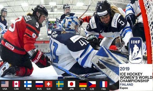 ЧМ 2019 по хоккею среди женских сборных