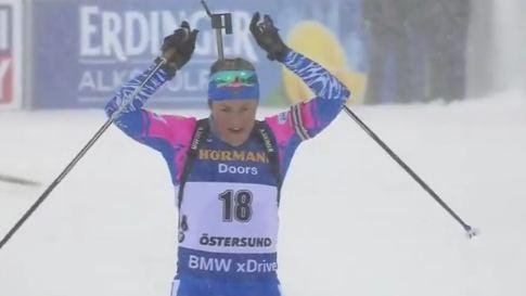 Екатерина Юрлова, финиш