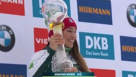 Итальянская биатлонистка Доротея Вирер