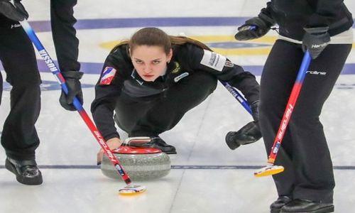 Женская сборная России по керлингу на ЧМ 2019