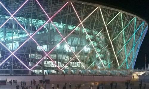 Волгоград-Арена, футбол