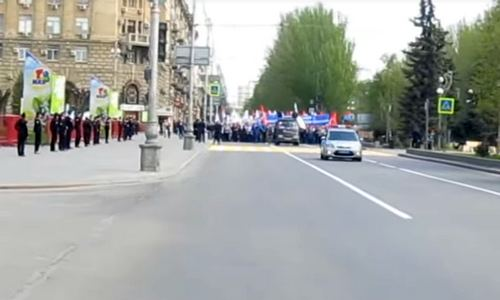 демонстрация, Волгоград