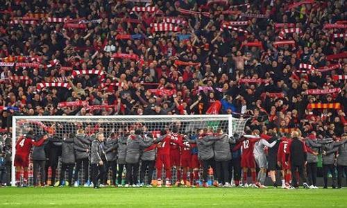 Ливерпуль-Барселона, ответный полуфинал