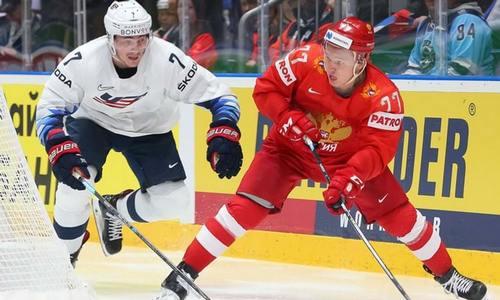 Россия-США, четвертьфинал ЧМ 2019 по хоккею