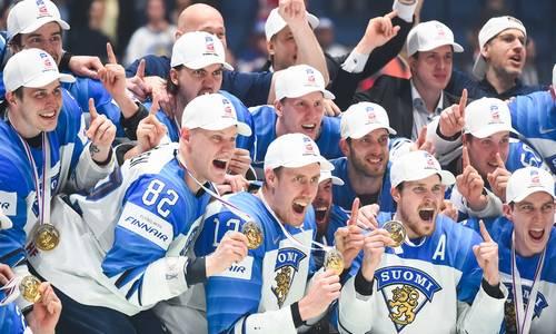 Сборная Финляндии чемпион мира по хоккею