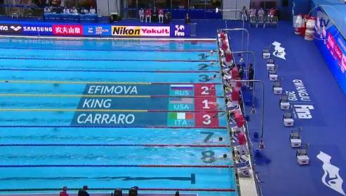 ЧМ 2019, женщины, 100 метров, брасс
