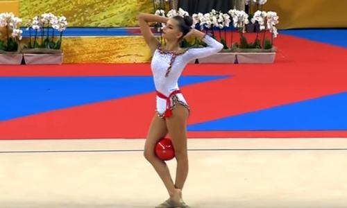 Дина Аверина, художественная гимнастика