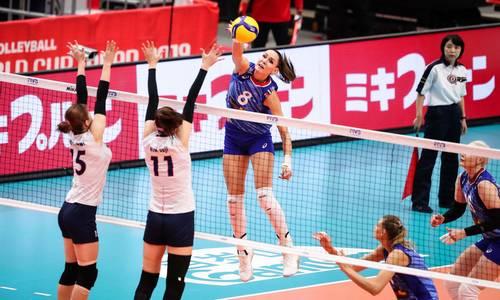 волейбол, Россия-Южная Корея, кубок мира