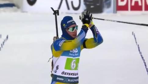 Биатлон, супермикст, сборная Швеции
