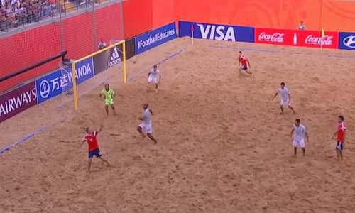 Россия-Япония, пляжный футбол, ЧМ 2019
