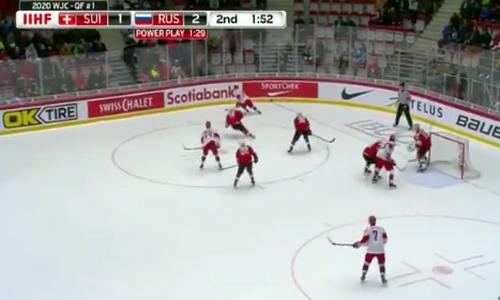 Россия-Швейцария, МЧМ 2020
