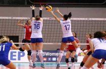 Российские волейболистки с поражения от сборной США стартовали в первом игровом уик-энде Гран-при 2017