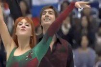 Российские фигуристы Тиффани Загорски и Джонотан Гурейро стали вторыми у танцоров на этапе Гран-при в Японии