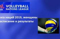 Женская сборная России по волейболу поражением от Италии завершила четвертую игровую неделю Лиги наций 2019