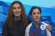 Россиянка Евгения Медведева победила в произвольной программе у женщин на командном чемпионате мира по фигурному катанию