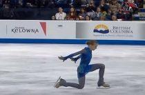 Российская фигуристка Александра Трусова с мировым рекордов выиграла 2-й этап Гран-при 2019 Skate Canada