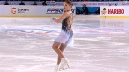 Россиянка Алена Косторная выиграла короткую программу у женщин на ЧЕ 2020 по фигурному катанию: результаты