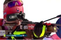 Анастасия Кузьмина оформила золотой дубль, выиграв женскую гонку преследования 23 марта на этапе КМ по биатлону в Норвегии