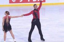 Российские фигуристы Мишина и Галлямов выиграли 3-й этап Гран-при 2019 в соревнованиях пар