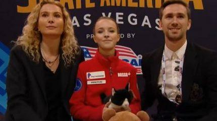 Россиянка Анна Щербакова стала победительницей 1-го этапа Гран-при 2019 по фигурному катанию Скейт Америка