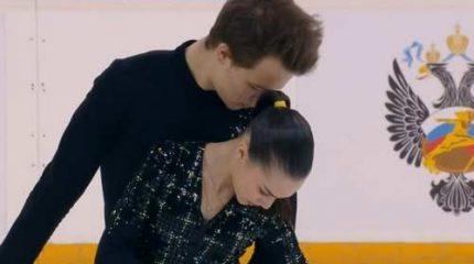 Панфилова и Рылов выиграли короткую программу у пар на юниорском чемпионате России 2020 по фигурному катанию