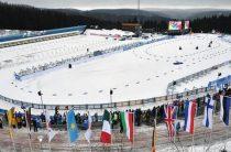 Женская сборная России заняла 10-е место в эстафете 9 февраля на седьмом этапе Кубка мира по биатлону 2018/2019 в Кэнморе