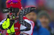 Анастасия Кузьмина завоевала золото в женском спринте 21 марта на 9-м этапе КМ по биатлону 2018/2019