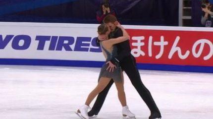 Александра Бойкова и Дмитрий Козловский выиграли 5-й этап Гран-при 2019 по фигурному катанию в соревновании пар
