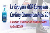 Чемпионат Европы 2019 по керлингу среди мужских и женских команд (дивизион А) стартует в Швеции 16 ноября