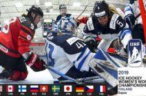 Матч Россия-Канада женского чемпионата мира 2019 по хоккею пройдет в финском Эспоо 8 апреля