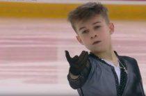 Даниил Самсонов выиграл чемпионат России 2020 по фигурному катанию среди юниоров
