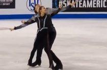 Российские фигуристы Дарья Павлюченко и Денис Ходыкин стали вторыми на 1-м этапе Гран-при 2019 в соревнованиях пар