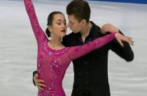Российские фигуристы Елизавета Худайбердиева и Никита Назаров стали вторыми в ритм-танце на юниорском ЧМ 2019 в Загребе