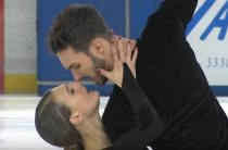 Французские фигуристы Габриэла Пападакис и Гийом Сизерон выиграли короткую программу у танцоров на ЧЕ 2019 в Минске