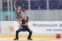 Танцевальный дуэт Хавронина/Чиризано стал победителем финала Кубка России по фигурному катанию 2019 у юниоров