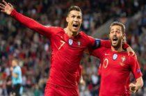 Сборная Португалии обыграла сборную Швейцарии в полуфинале футбольной Лиги наций