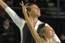 Российская пара Мишина/Галлямов завоевала золото финала юниорского Гран-при 2018 по фигурному катанию