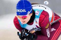 Российская лыжница Наталья Непряева завоевала бронзу в женской гонке на 10 километров на этапе КМ 2019/2020 в Руке