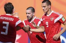 Сборная России по пляжному футболу обыграла Бразилию и вышла в полуфинал чемпионата мира 2019