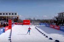 Биатлонистка Экхофф стала победительницей масс-старта 19 марта на заключительном этапе КМ 2016/2017 в Норвегии