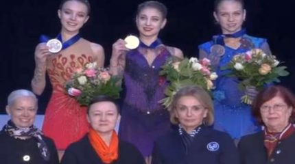 Российские фигуристки завоевали золото, серебро и бронзу чемпионата Европы 2020 в Граце