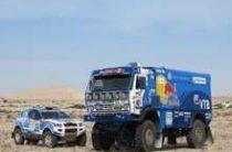 Экипаж Айрата Мардеева из «КАМАЗ-мастер» выиграл первый этап ралли «Дакар 2014» в классе грузовиков
