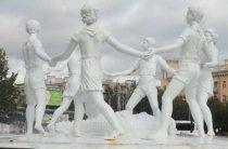 Фонтан Детский хоровод в Волгограде закрылся на ремонт