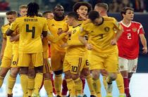 Сборная России проиграла Бельгии в отборочном матче чемпионата Европы 2020 по футболу