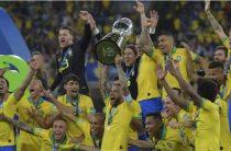 Сборная Бразилии одержала победу над сборной Перу в финале Кубка Америки по футболу 2019
