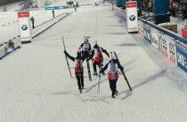 Сборная Норвегии завоевала золото ЧМ 2019 по биатлону в смешанной эстафете, Россия-четвертая