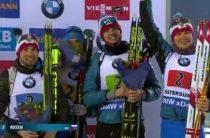 Российские биатлонисты завоевали бронзу чемпионата мира 2019 в мужской эстафете 16 марта