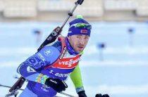 Сергей Бочарников выиграл золото чемпионата Европы 2020 по биатлону в мужском суперспринте 26 февраля