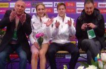 Виктория Синицина и Никита Кацалапов выиграли соревнования танцоров на московском этапе Гран-при 2019 по фигурному катанию