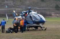 Вертолет Ми-8 с экипажем закреплен за Волгоградской областью на время пожароопасного периода